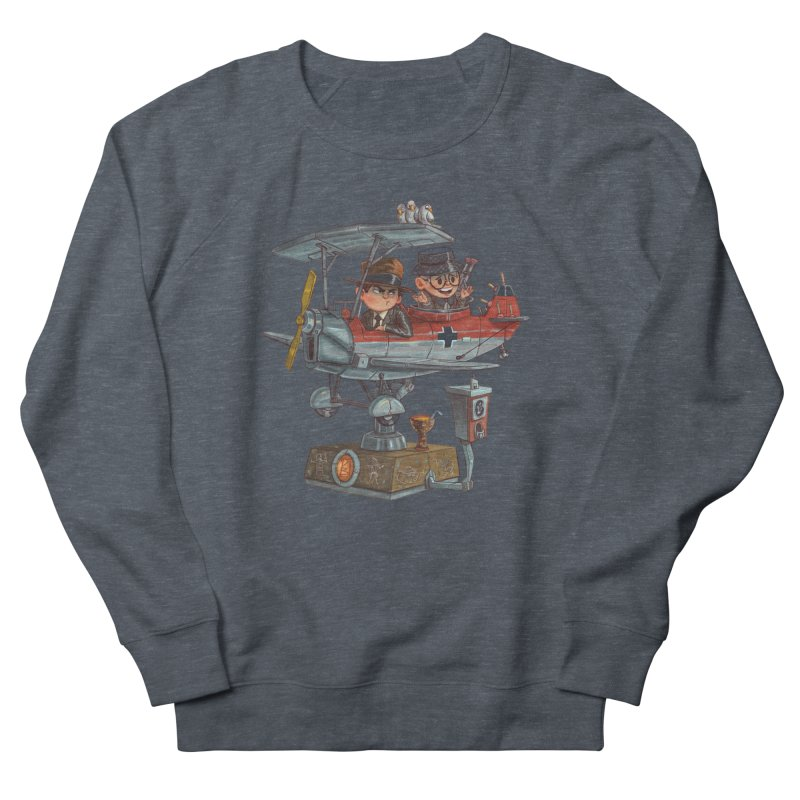 Last Flight Out Men's Sweatshirt by Patrick Ballesteros Art Shop