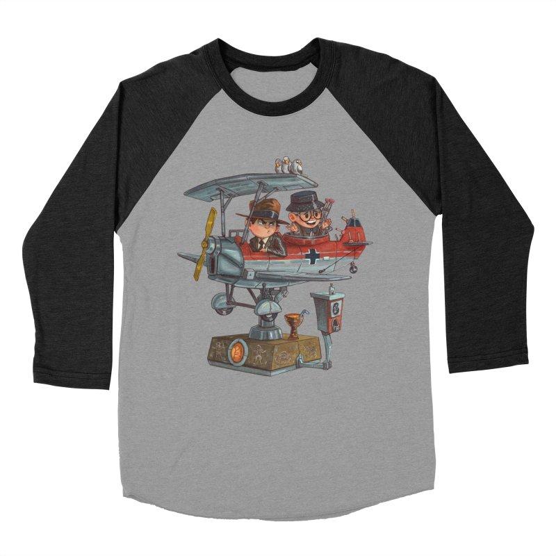 Last Flight Out Women's Baseball Triblend T-Shirt by Patrick Ballesteros Art Shop