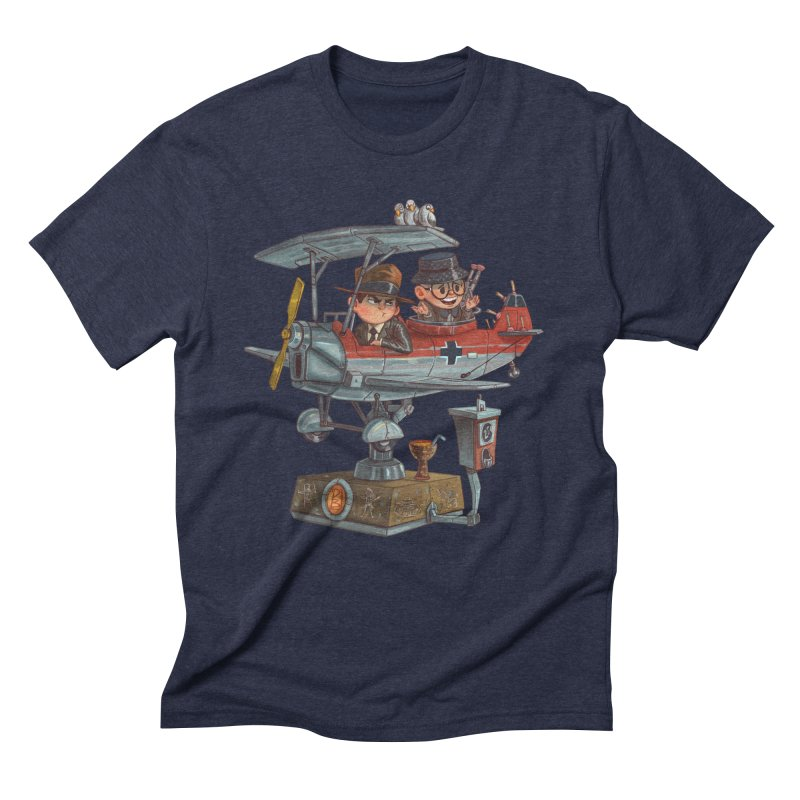 Last Flight Out Men's Triblend T-shirt by Patrick Ballesteros Art Shop