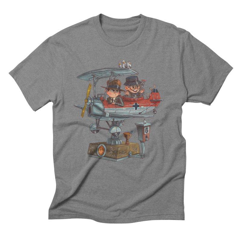 Last Flight Out Men's Triblend T-shirt by Patrick Ballesteros Art Shop