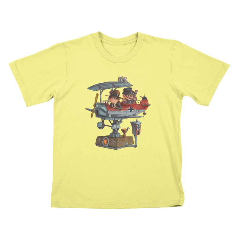 Last Flight Out Kids T-shirt by Patrick Ballesteros Art Shop