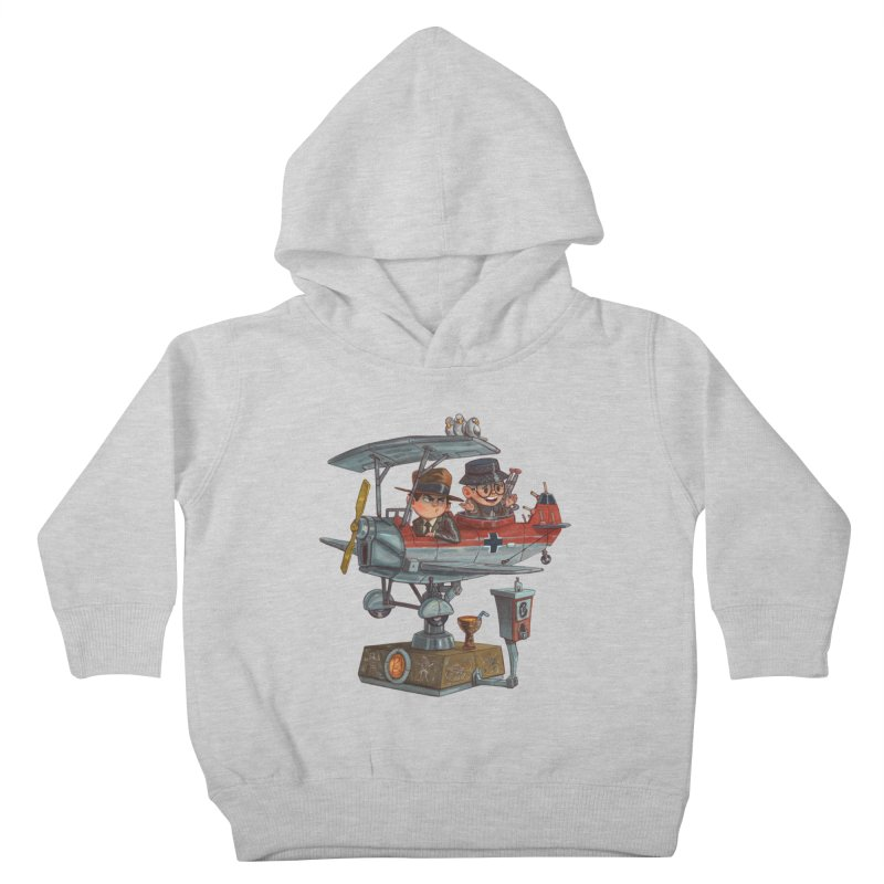 Last Flight Out Kids Toddler Pullover Hoody by Patrick Ballesteros Art Shop