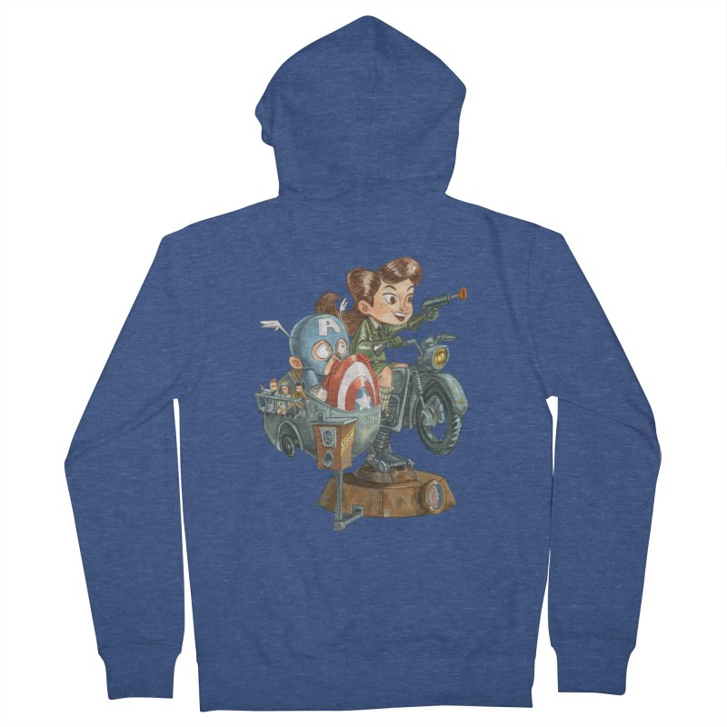 Get Carter Men's Zip-Up Hoody by Patrick Ballesteros Art Shop
