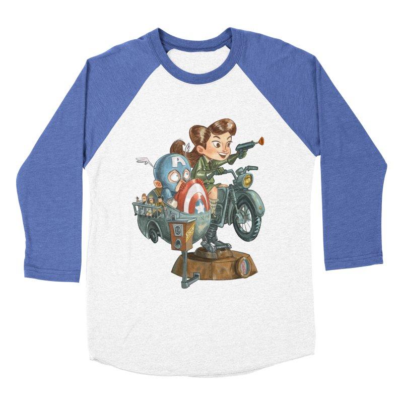 Get Carter Women's Baseball Triblend T-Shirt by Patrick Ballesteros Art Shop