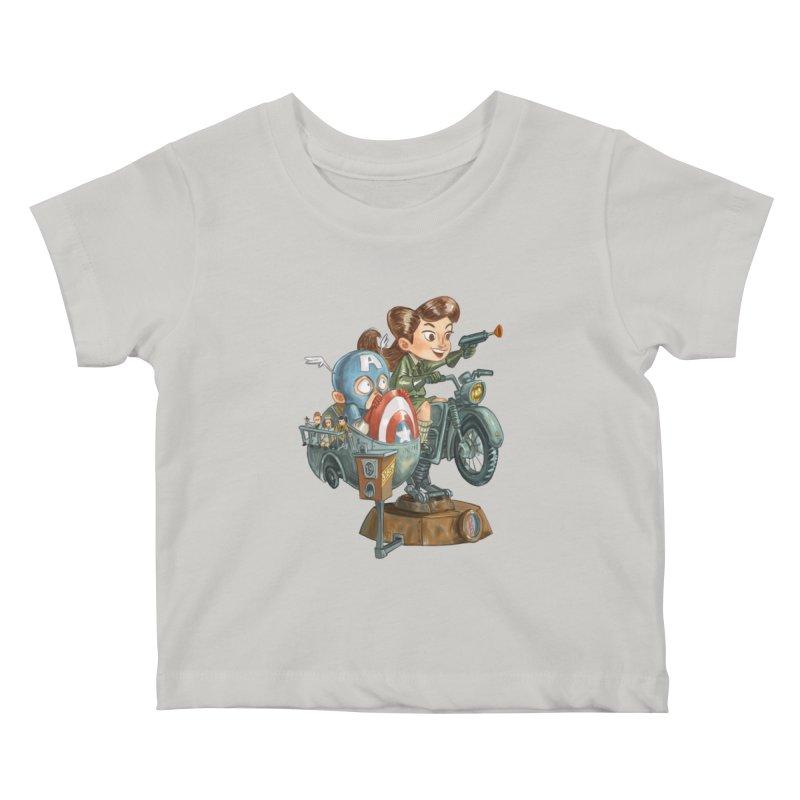 Get Carter Kids Baby T-Shirt by Patrick Ballesteros Art Shop