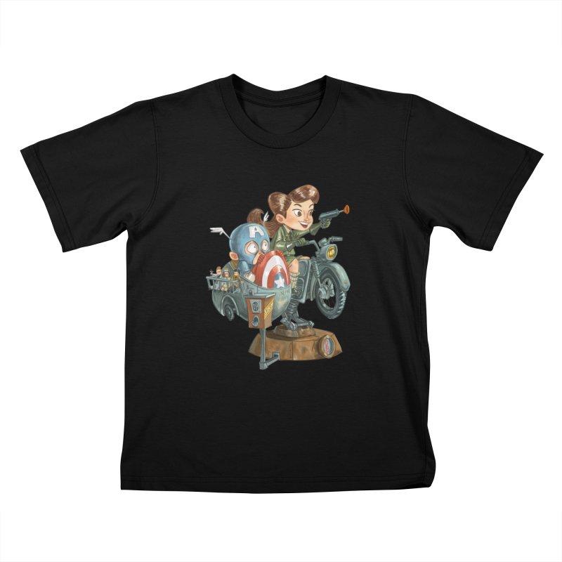 Get Carter Kids T-Shirt by Patrick Ballesteros