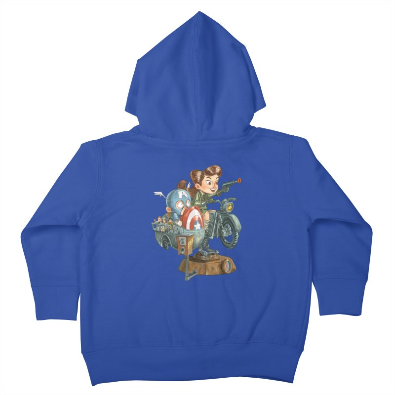 Get Carter Kids Toddler Zip-Up Hoody by Patrick Ballesteros Art Shop