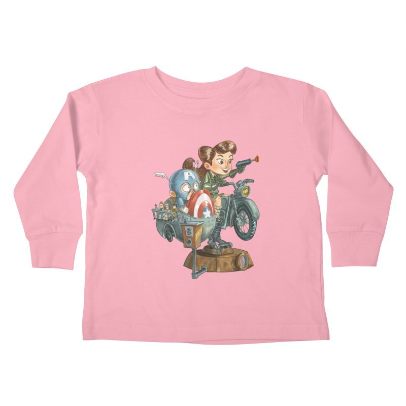 Get Carter Kids Toddler Longsleeve T-Shirt by Patrick Ballesteros