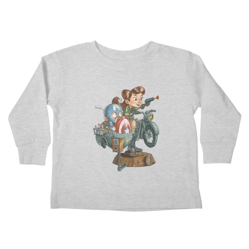 Get Carter Kids Toddler Longsleeve T-Shirt by Patrick Ballesteros Art Shop