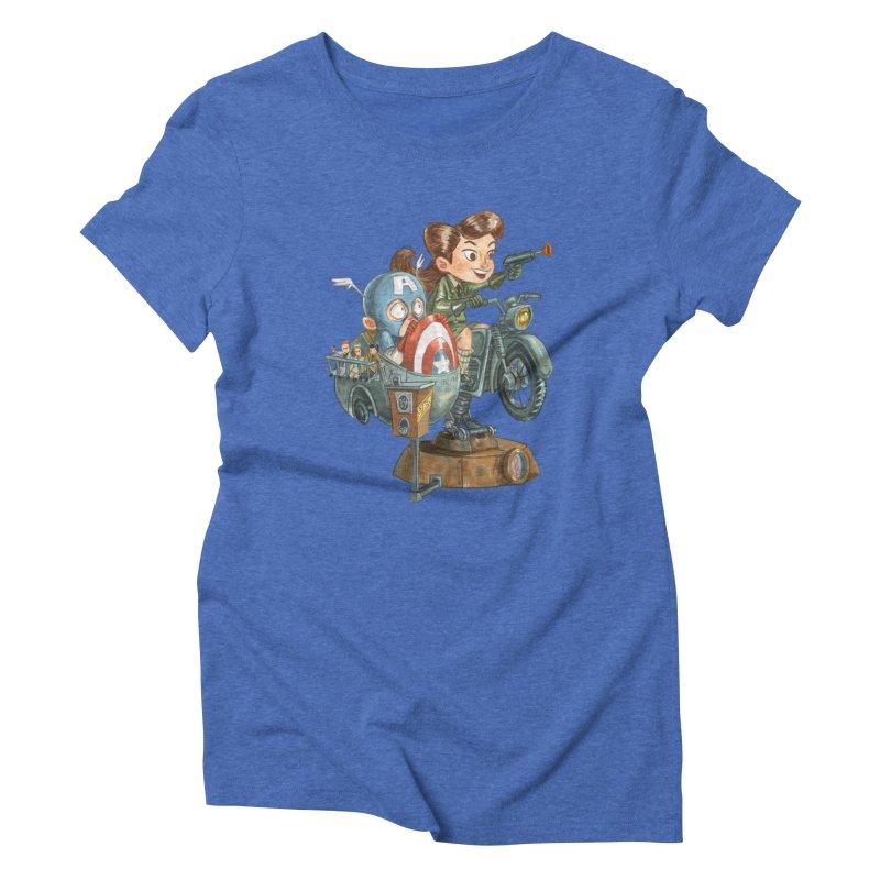 Get Carter Women's Triblend T-shirt by Patrick Ballesteros Art Shop