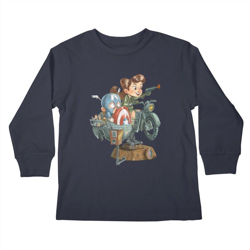 Get Carter Kids Longsleeve T-Shirt by Patrick Ballesteros