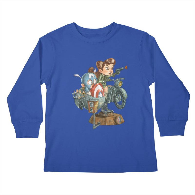 Get Carter Kids Longsleeve T-Shirt by Patrick Ballesteros Art Shop