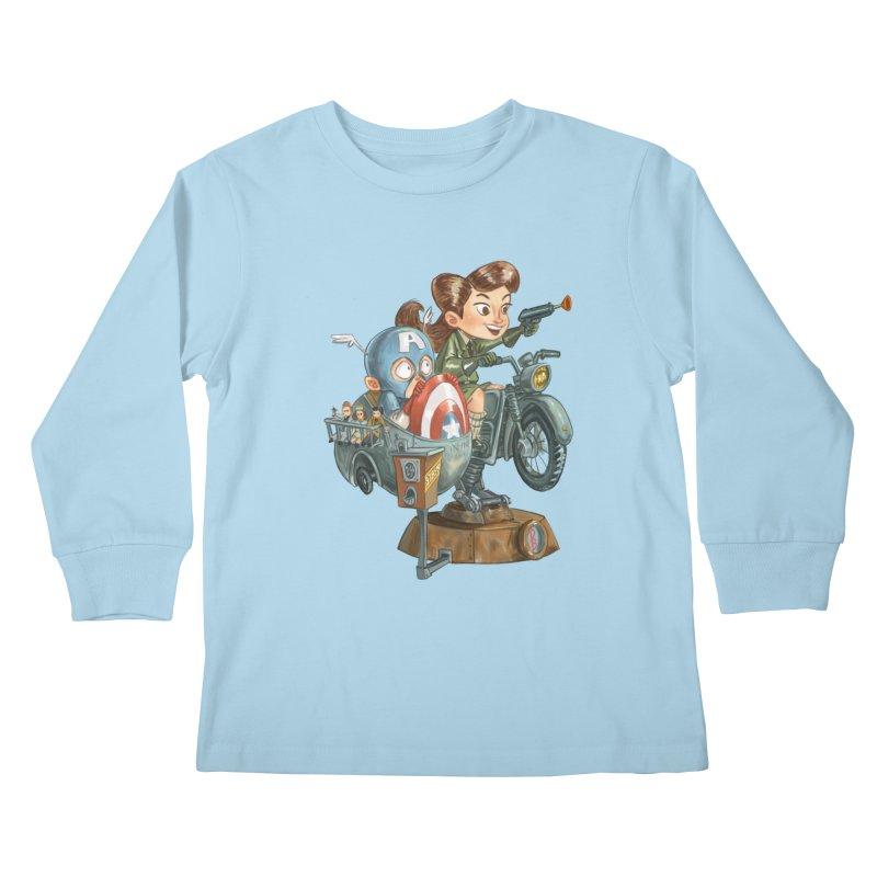 Get Carter Kids Longsleeve T-Shirt by Patrick Ballesteros Art Shop
