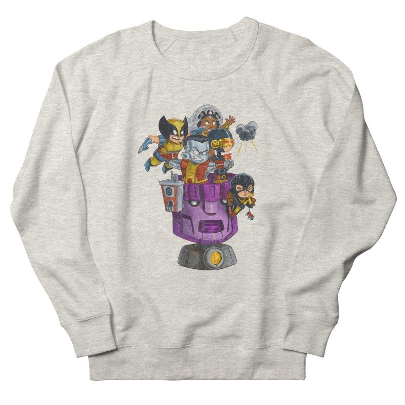 X Marks The Spot Men's French Terry Sweatshirt by Patrick Ballesteros Art Shop