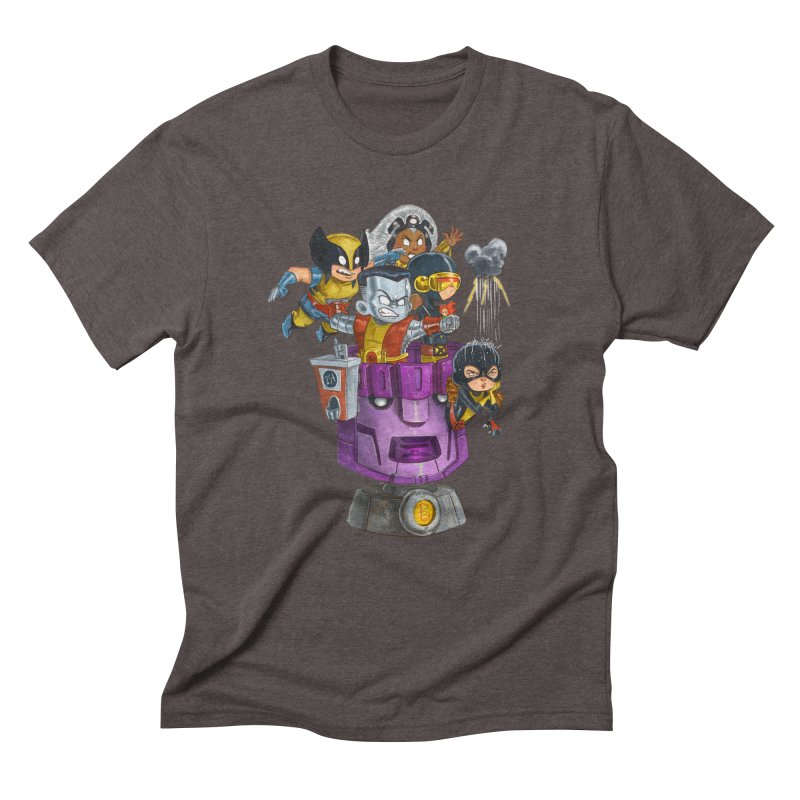 X Marks The Spot Men's Triblend T-shirt by Patrick Ballesteros Art Shop