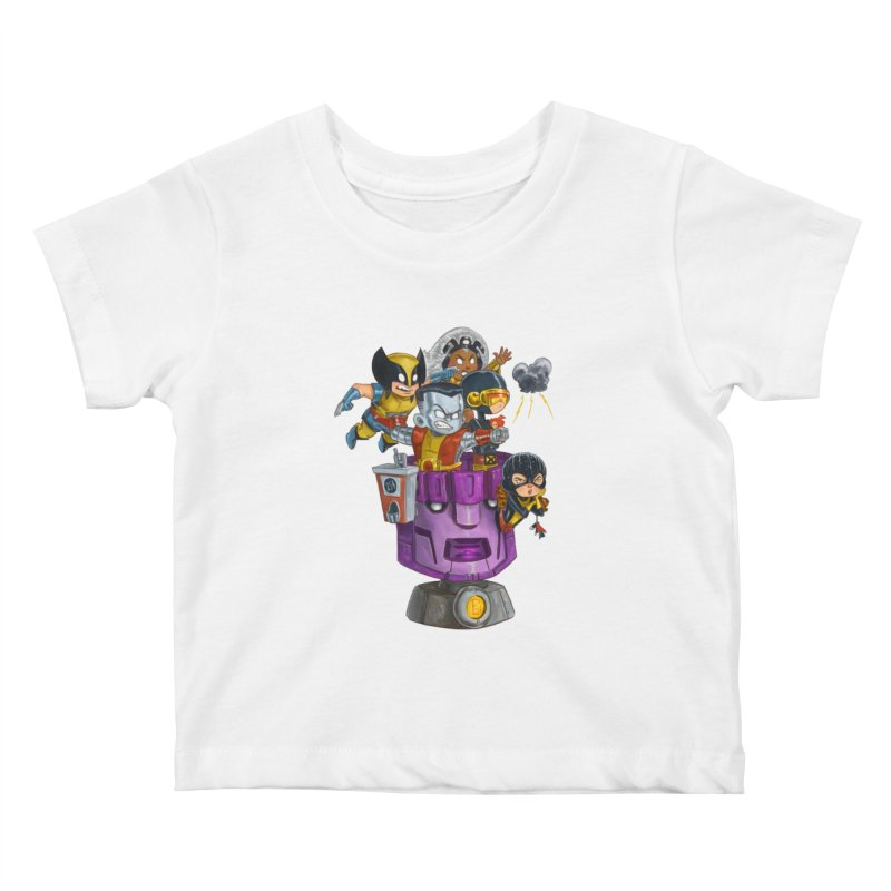 X Marks The Spot Kids Baby T-Shirt by Patrick Ballesteros Art Shop