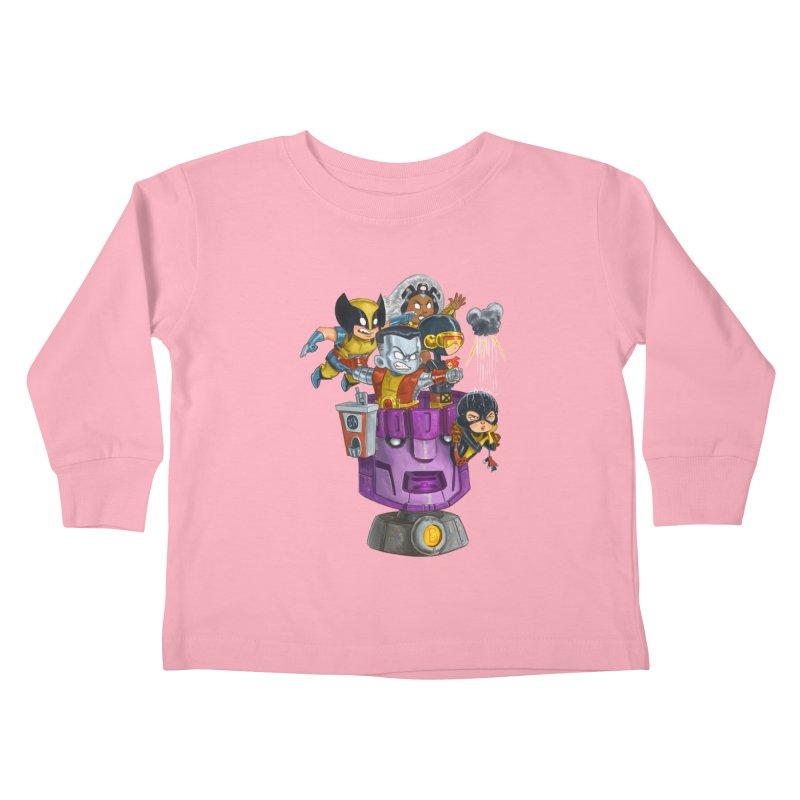 X Marks The Spot Kids Toddler Longsleeve T-Shirt by Patrick Ballesteros Art Shop