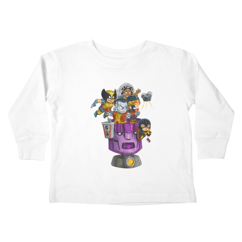 X Marks The Spot Kids Toddler Longsleeve T-Shirt by Patrick Ballesteros