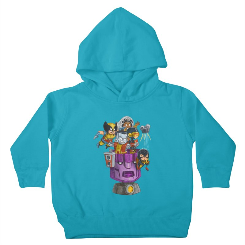 X Marks The Spot Kids Toddler Pullover Hoody by Patrick Ballesteros Art Shop