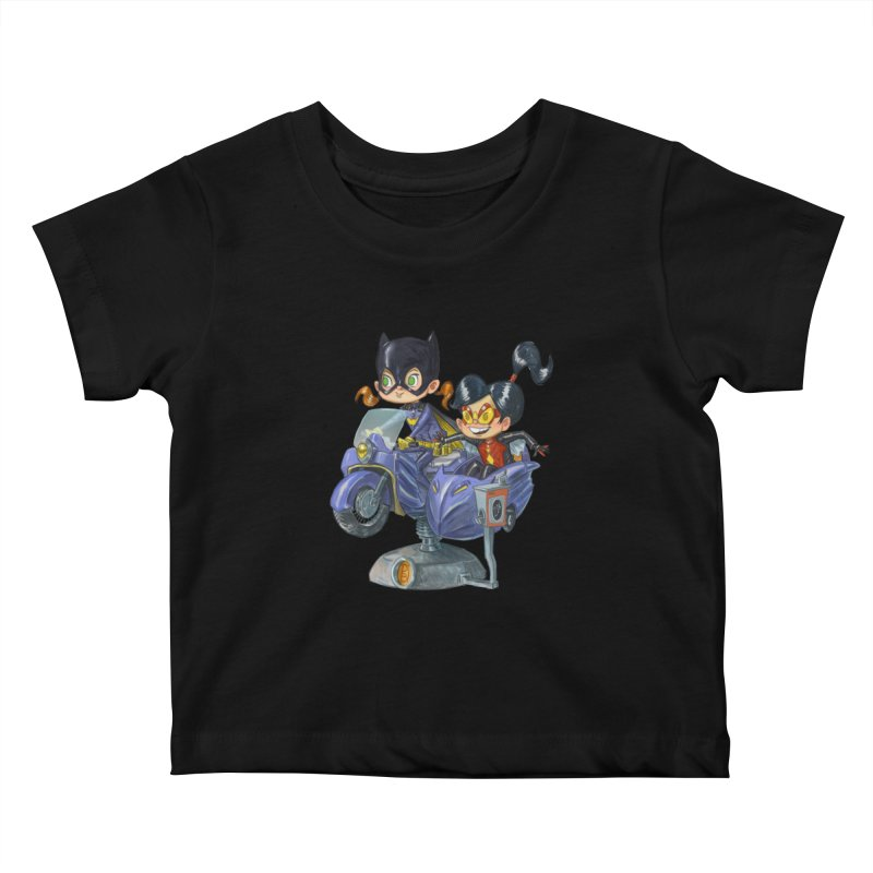 Girl Powered Kids Baby T-Shirt by Patrick Ballesteros Art Shop