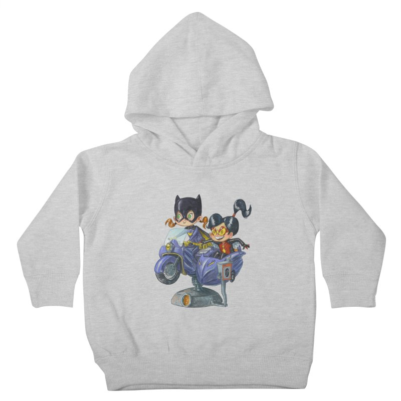 Girl Powered Kids Toddler Pullover Hoody by Patrick Ballesteros Art Shop