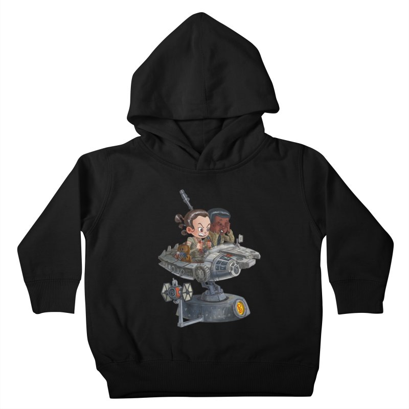 Rey of Sunshine Kids Toddler Pullover Hoody by Patrick Ballesteros Art Shop