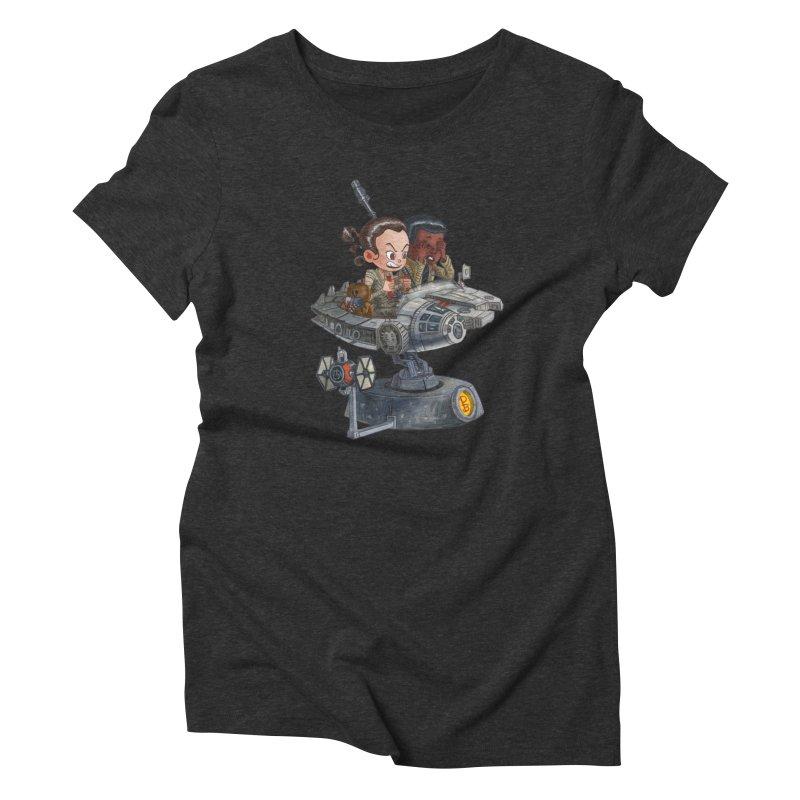 Rey of Sunshine Women's Triblend T-shirt by Patrick Ballesteros Art Shop