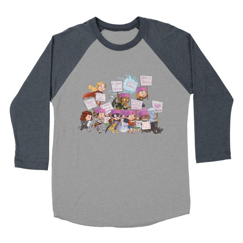 EM-POWERED Women's Baseball Triblend T-Shirt by Patrick Ballesteros Art Shop