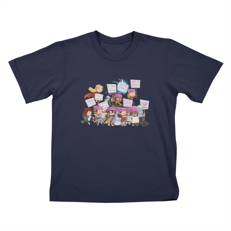 EM-POWERED Kids T-shirt by Patrick Ballesteros Art Shop