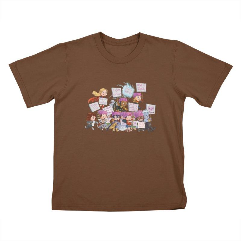 EM-POWERED Kids T-shirt by Patrick Ballesteros Art Shop