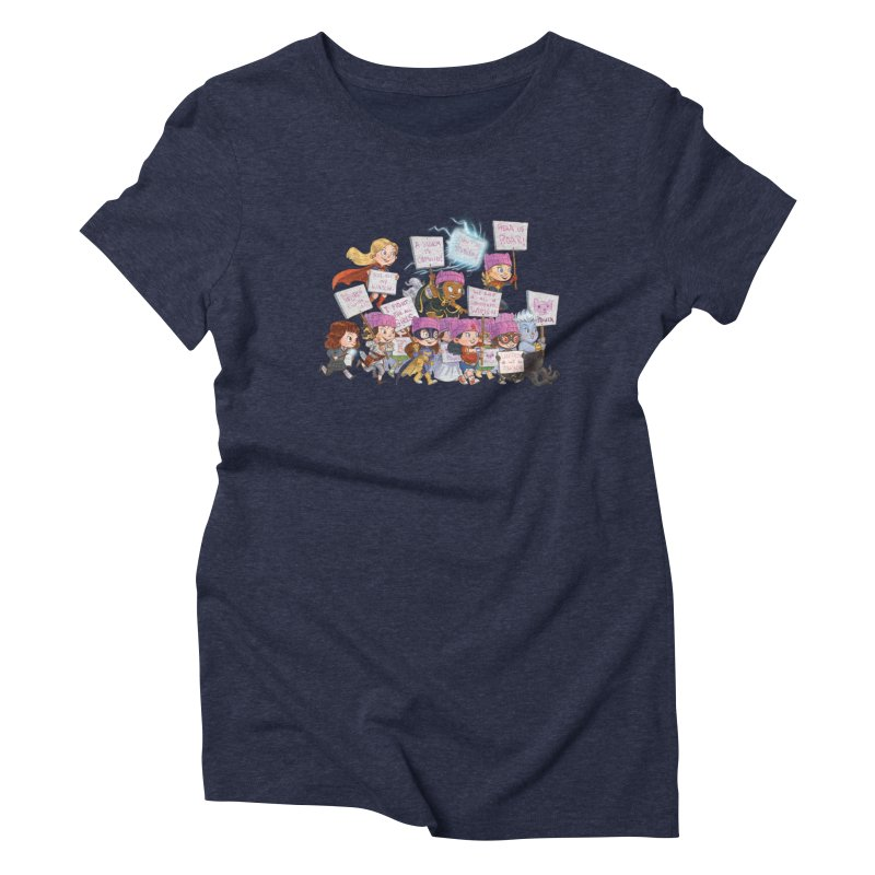 EM-POWERED Women's Triblend T-shirt by Patrick Ballesteros Art Shop
