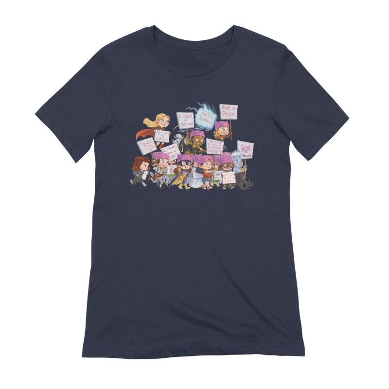 EM-POWERED Women's Extra Soft T-Shirt by Patrick Ballesteros
