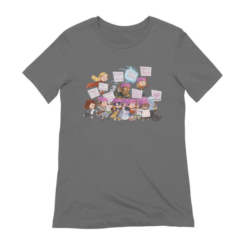 EM-POWERED Women's T-Shirt by Patrick Ballesteros