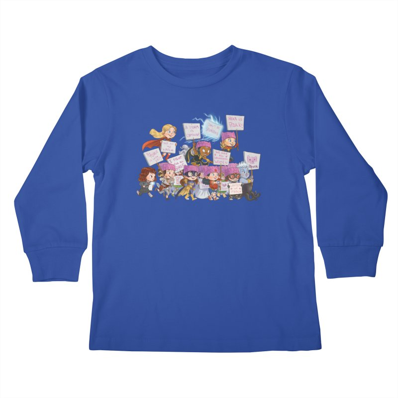 EM-POWERED Kids Longsleeve T-Shirt by Patrick Ballesteros