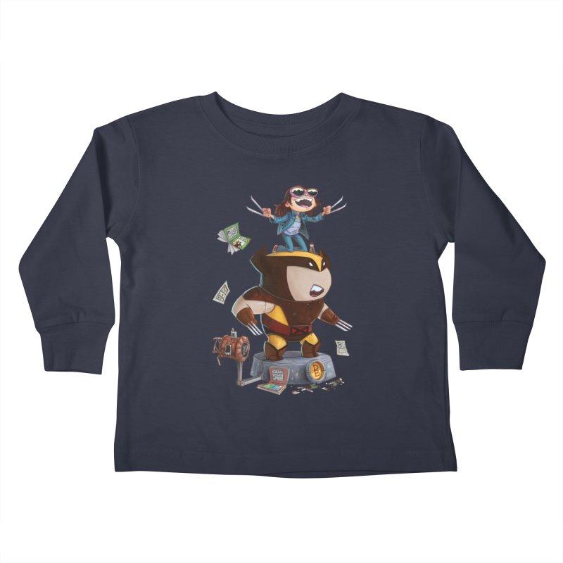Logan's Run Kids Toddler Longsleeve T-Shirt by Patrick Ballesteros Art Shop