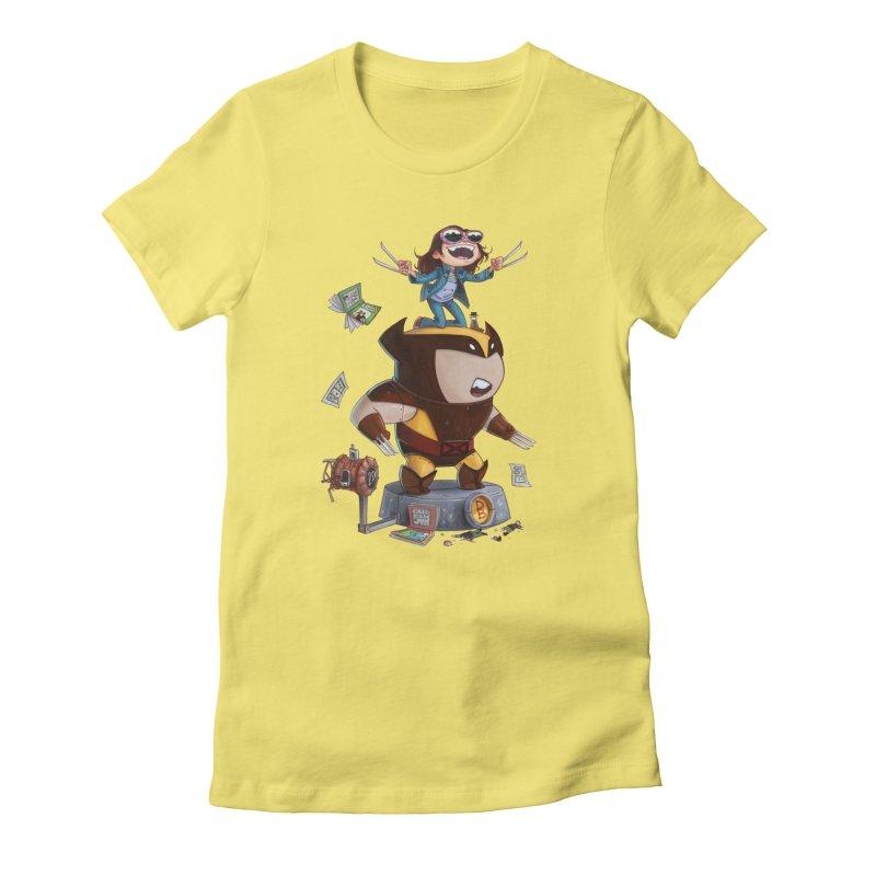 Logan's Run Women's Fitted T-Shirt by Patrick Ballesteros Art Shop