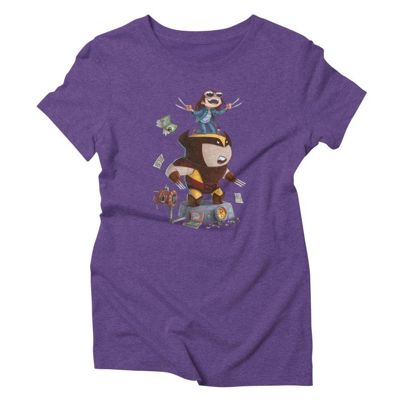Logan's Run Women's Triblend T-shirt by Patrick Ballesteros Art Shop