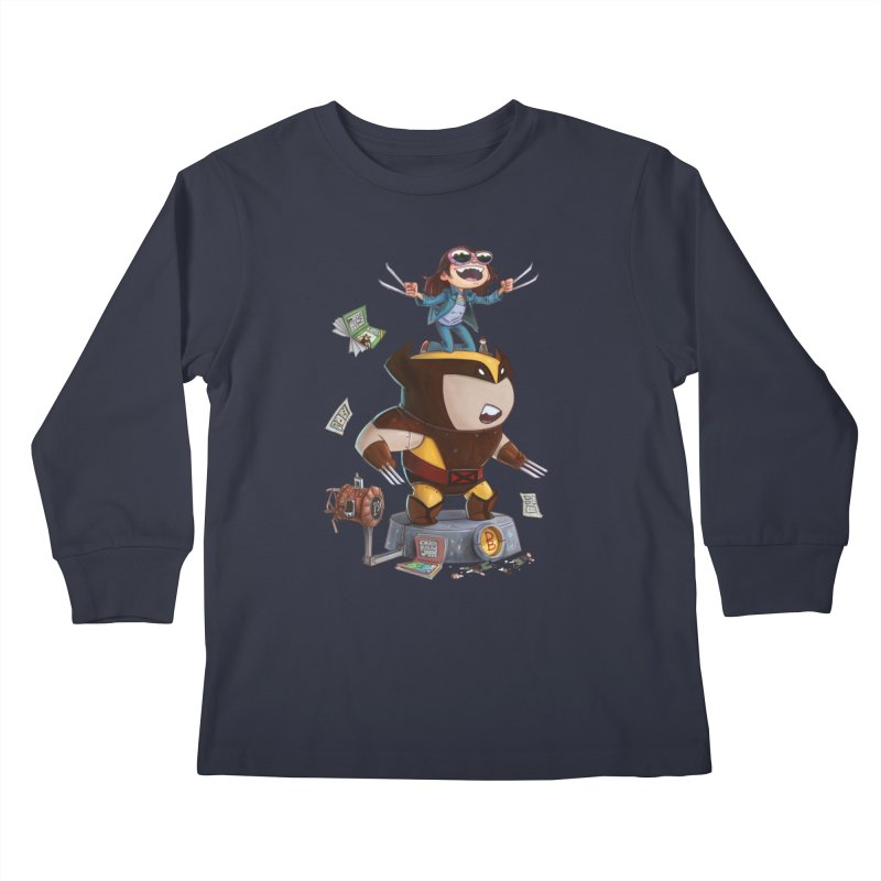 Logan's Run Kids Longsleeve T-Shirt by Patrick Ballesteros