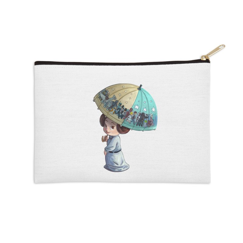 FAREWELL Accessories Zip Pouch by Patrick Ballesteros Art Shop