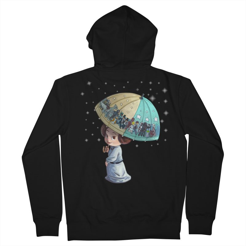 FAREWELL Women's Zip-Up Hoody by Patrick Ballesteros Art Shop