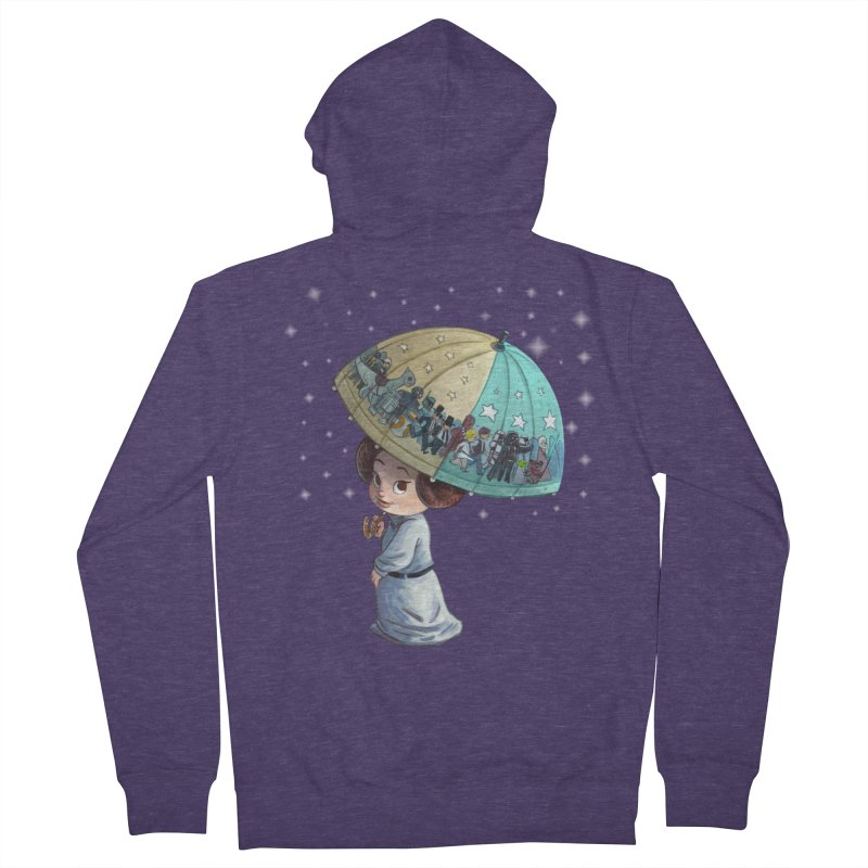 FAREWELL Men's French Terry Zip-Up Hoody by Patrick Ballesteros Art Shop
