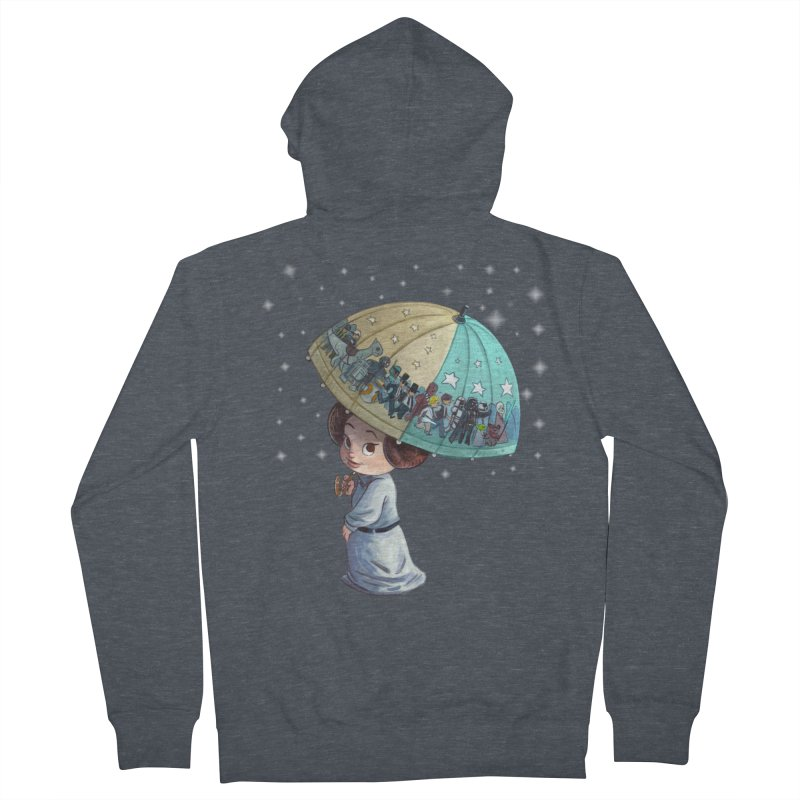 FAREWELL Men's Zip-Up Hoody by Patrick Ballesteros Art Shop