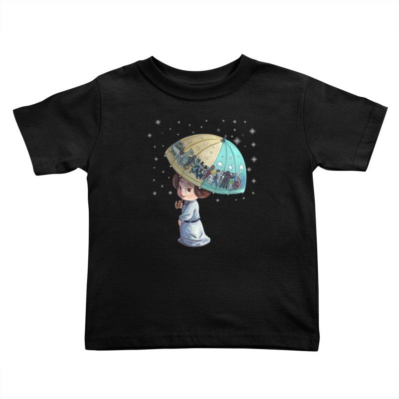 FAREWELL Kids Toddler T-Shirt by Patrick Ballesteros Art Shop