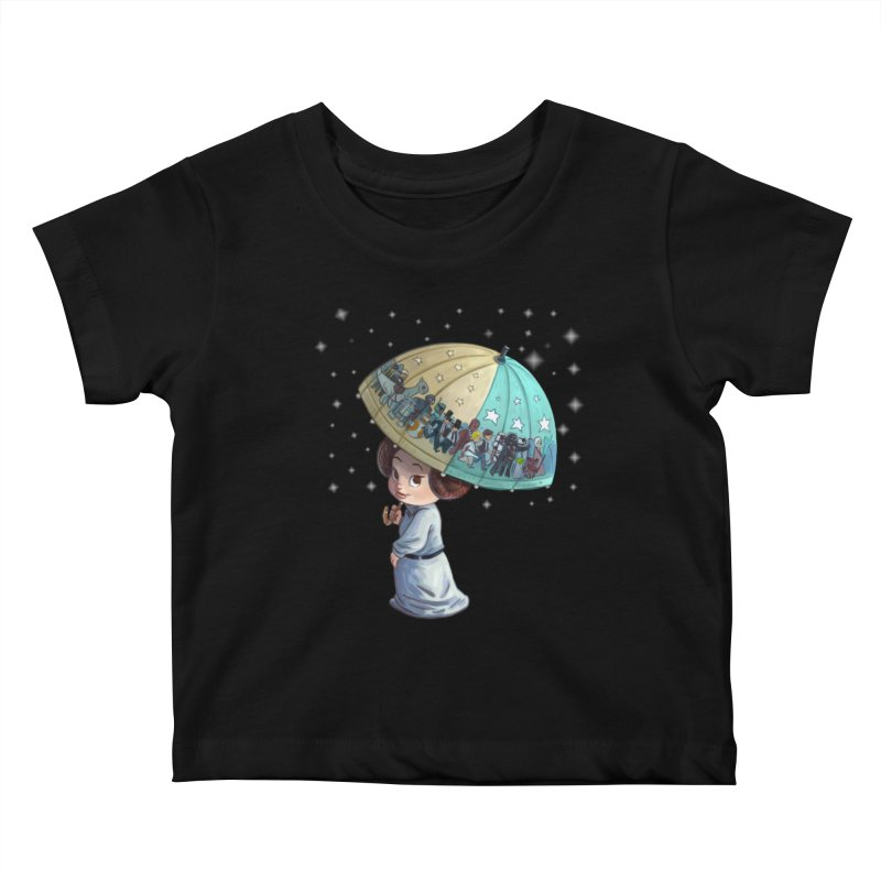 FAREWELL Kids Baby T-Shirt by Patrick Ballesteros Art Shop