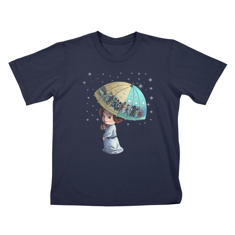FAREWELL Kids T-Shirt by Patrick Ballesteros