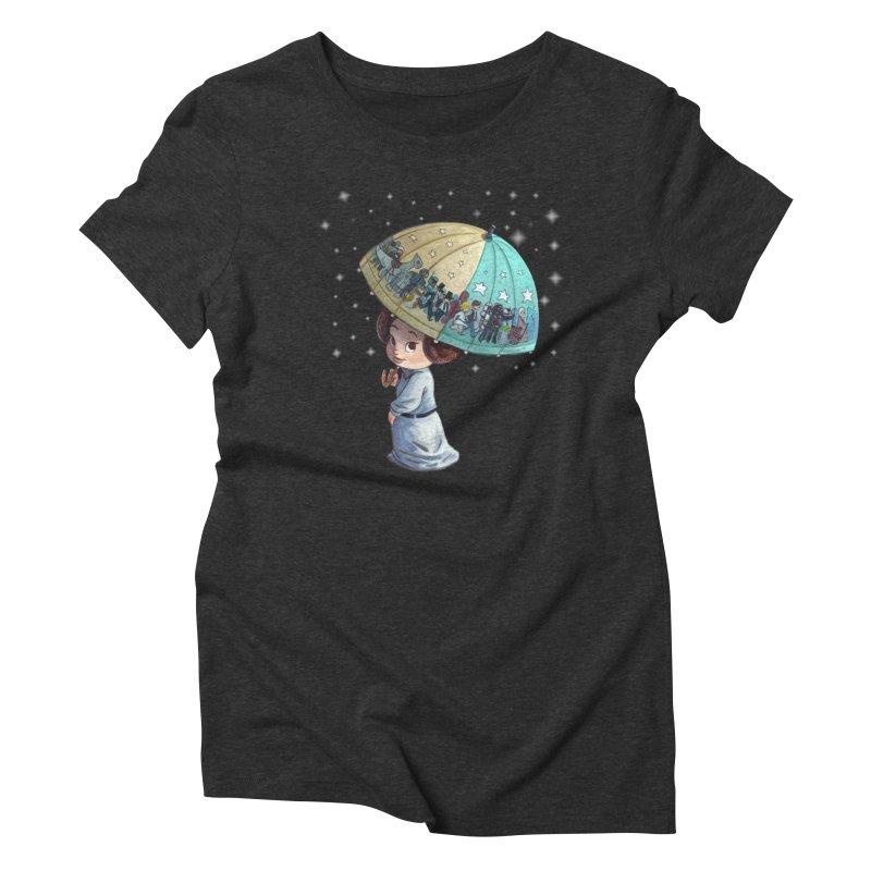 FAREWELL Women's Triblend T-shirt by Patrick Ballesteros Art Shop