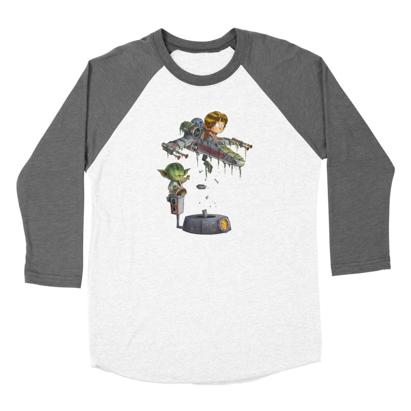 YO-DA Man Women's Longsleeve T-Shirt by Patrick Ballesteros