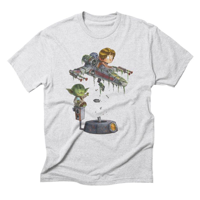 YO-DA Man Men's Triblend T-Shirt by Patrick Ballesteros Art Shop