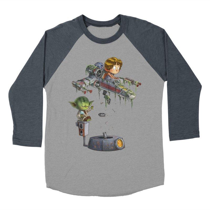 YO-DA Man Women's Baseball Triblend T-Shirt by Patrick Ballesteros Art Shop