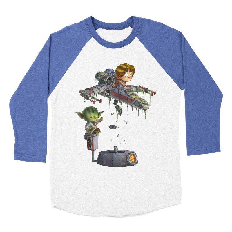 YO-DA Man Men's Baseball Triblend T-Shirt by Patrick Ballesteros Art Shop